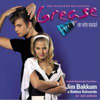 Cover Musical m.o.a. Jim Bakkum en Bettina Holwerda - Grease [Originele Nederlandse Cats Album]